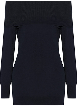 Iris & Ink Vivian Off-the-shoulder Wool Sweater