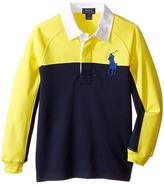Polo Ralph Lauren Jersey Raglan Rugby (Little Kids/Big Kids)