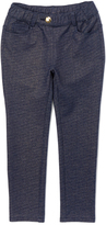 E-Land Kids Dark Blue Jeggings - Toddler & Girls