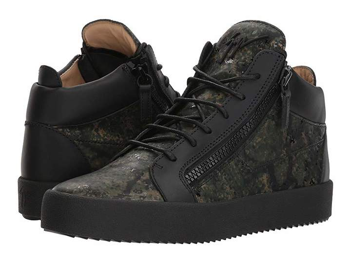 Giuseppe Zanotti May London Camo Mid Top Sneaker