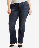 Levi's Plus Size 415 Relaxed-Fit Bootcut Jeans