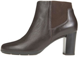 Geox Brown Leather Bootie