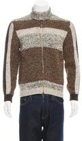 Etro Wool Zip-Up Sweater