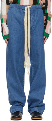 Loewe Blue Drawstring Jeans