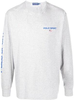 Polo Ralph Lauren Sport logo long-sleeve T-shirt