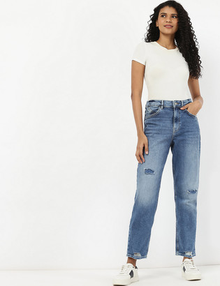 Marks and Spencer Boyfriend Distressed Jeans