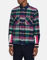 Sacai Double Faced Flannel Shirt