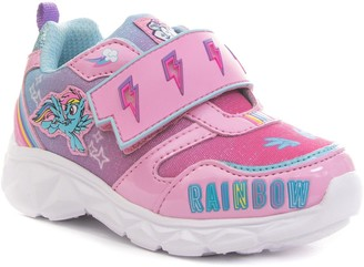 My Little Pony Unbranded Rainbow Dash Toddler Girls' Light Up Shoes