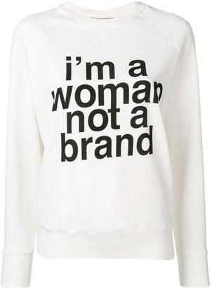 Erika Cavallini 'I'm a Woman, Not a Brand' sweater