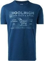 Woolrich faded logo T-shirt - men - Cotton - XL