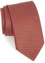 Ermenegildo Zegna Men's Geometric Silk Tie