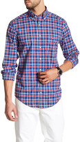 Gant Check Plaid Long Sleeve Shirt