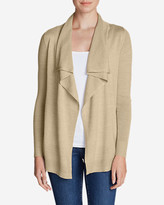 Eddie Bauer Women's Flightplan Cardigan Sweater - Solid