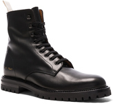 Common Projects Leather Winter Combat Boots