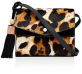 Elizabeth and James Eloise Field Leopard Print Calf Hair Crossbody