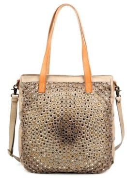Old Trend Stellar Stud Leather Tote Bag
