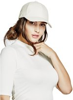 GUESS Faux-Leather Baseball Cap