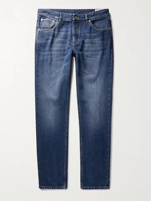 Brunello Cucinelli Selvedge Denim Jeans - Men - Blue