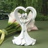 Hortense B. Hewitt Wedding Cake Topper Country Flair Heart