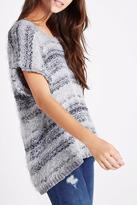 BCBGeneration Feather Yarn Sweater