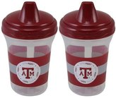 Baby Fanatic TAM122 Texas A&M Sippy Cup - 2 Pack