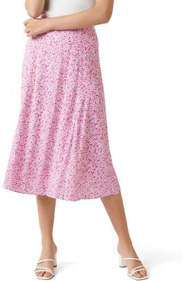 Forever New Petite Ellie Petite Split Midi Skirt