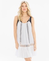 Soma Intimates Spaghetti Strap Crochet Coverup Dress