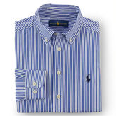Ralph Lauren 8-20 Striped Cotton Dress Shirt
