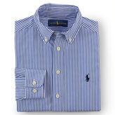 Ralph Lauren 8-20 Striped Cotton Dress Shirt
