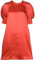 McQ silk short sleeve dress