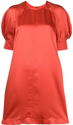 McQ Silk Short Sleeve Dress