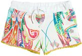 Roberto Cavalli Printed Light Cotton Shorts