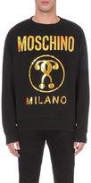 Moschino Logo-print Cotton Jumper