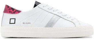 D.A.T.E Contrasting Panel Sneakers