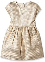 CdeC by Cordelia de Castellane Girl's Printed Dress - Gold -