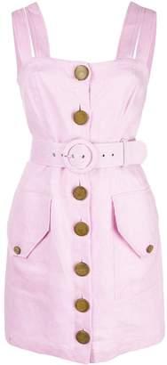 Nicholas belted mini dress
