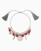 Charming charlie Spirited Slip & Pull Bracelet