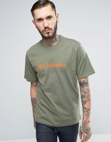 Columbia Basic Logo T-shirt In Green