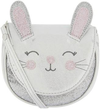 Accessorize Girls Bella Bunny Across Body Bag - Grey