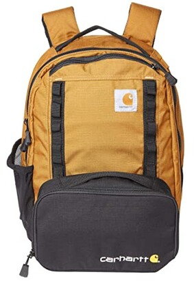 Carhartt Medium Pack w/ Insulated Pouch (Black) Backpack Bags