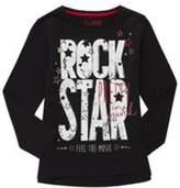 F&F Rock Star Slogan Long Sleeve T-Shirt