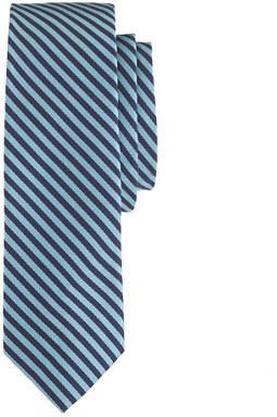 J.Crew English silk tie in cobalt stripe