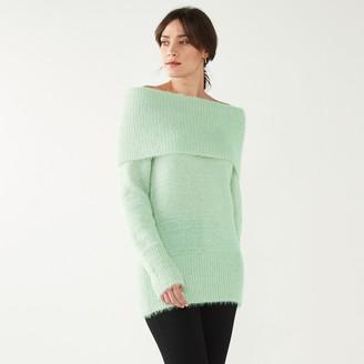 Nine West Women's Femme Off-the-Shoulder Sweater