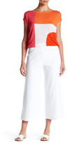 Joan Vass Cropped Wide Pant