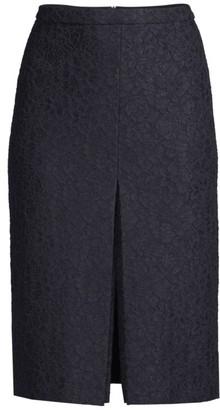 HUGO BOSS Vaspitze Bonded Lace Pencil Skirt
