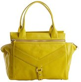 Botkier citron leather 'Legacy' trapeze tote bag