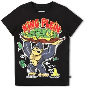 Philipp Plein Junior King Plein T-Shirt (4-16 Years)