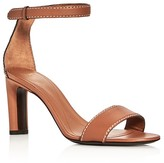 Giorgio Armani Basic Ankle Strap High Heel Sandals