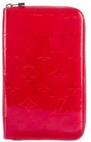 Louis Vuitton Monogram Vernis Vertical Zippy Wallet