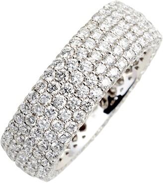 Bony Levy Diamond Pave Wide Eternity Ring